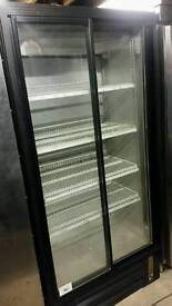Pepsi commercial double sliding doors chiller fully working with guaranty good condition