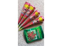 4Henna Cones & 1Henna Packet