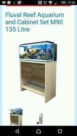 Fluval m90 marine fish tank