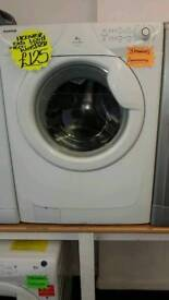 HOOVER 6KG 1600 SPIN WASHING MACHINE IN WHITE