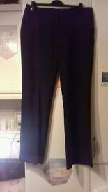 Black Work Trousers - UK16