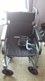 wheelchair -hardly used