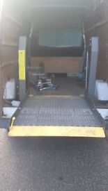 Hydraulic Tail Lift Van Ramp for Wheelchair, Motorcycle, Plant - Cost New £2,500