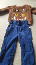 Gruffalo jumper and trousers 12-18 months