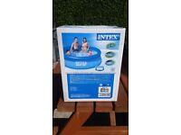 "8ft paddling pool. Intex easy set pool. 8'x 30"". New in box."