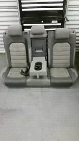 Vw Golf gtd mk 7 alcantara rear seats
