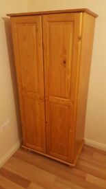Pine wardrobes (two of)