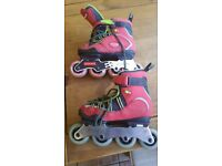 INNERS INLINE SKATES VGC SIZE 4