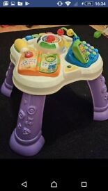 **VTECH PLAY AND LEARN ACTIVITY TABLE TOY**
