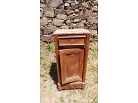 Vintage Retro French Bedside Table Cabinet - Chest Of Drawers Art Deco (12)