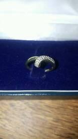 9k Gold Eternity Ring