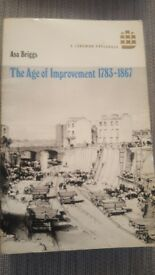 Asa Briggs, 'The Age of Improvement 1783-1867'.