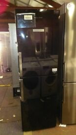 Grundig black fridge freezer new ex display
