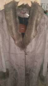 Ladies suede coat