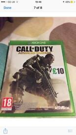 Call of Duty for the Xbox one