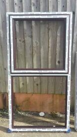 Rosewood Profile (Wood Effect) Upvc Window Top Opening