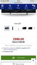 Brand new boxed 65 inch Sony 4K uhd smart tv