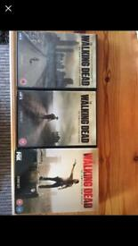 Walking dead season 1-3