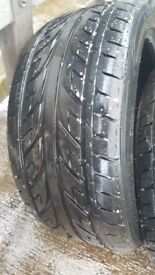 Set of 4 245x40 18 tyres only 2k miles done