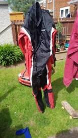 Spada motorcycle waterproof jump in suet