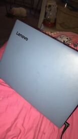 Brand new light blue Lenovo ideapad 320 laptop
