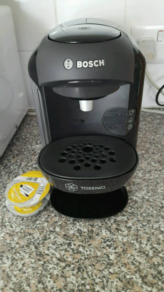 Tassimo Bosch Coffee Machine Used Twice Bargain In East End