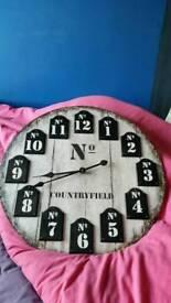 SOLD .... Large kitchen/dinning room clock