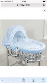3 Moses basket sets