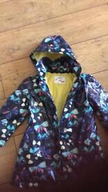 m&s raincoat age 3-4