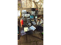 camping stove collection gas petrol meths wood solid fuel
