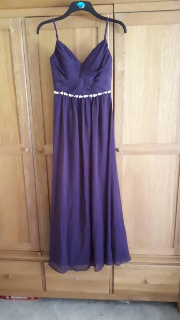 Purple Prom / Bridesmaid dress size 8   in Verwood, Dorset   Gumtree