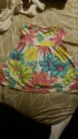 girls floral dress size 2-3