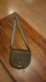 Three ladies handbags