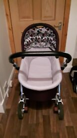 Mammas & Pappas pram & buggy with maxi-cosi iso-fix car seat