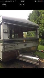Baby Portmaster Vintage Retro Caravan
