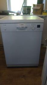 Bosch Classixx White Dishwasher - Full Size Dishwasher