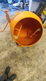 As New cement Mixer used two hours only
