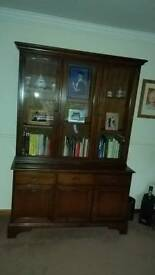 Stag minstral sideboard and bookcase