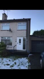 Semi detached house to rent