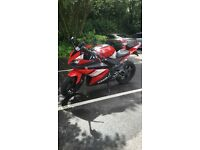 Yamaha yzf 2008 red and white