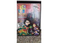 Rare Teen Titans dvds x5