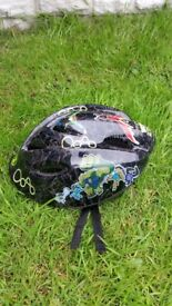 bike helmet Ben ten can deliver for a small charge