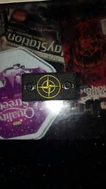 Stone Island badge with buttons