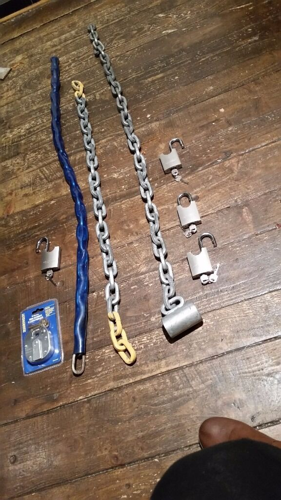 Security padlocks & chains