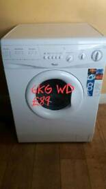 whirlpool 6kg washer dryer free delivery in Coventry