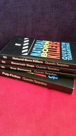 set of 4 screenplays by Quentin Tarantino