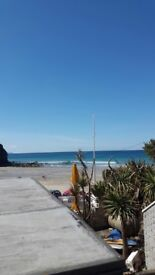 Holiday apartment. Sleeps 4. Special price. 2 bathrooms. Five min from top surfing beach