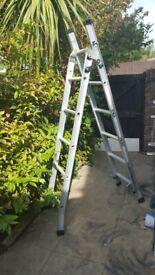 step ladder ABRU 3 way - Brand new