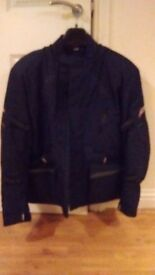Black RST mens motorcycle jacket full armour 3XL immaculate barely worn