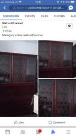 Wall/unit/cabinet